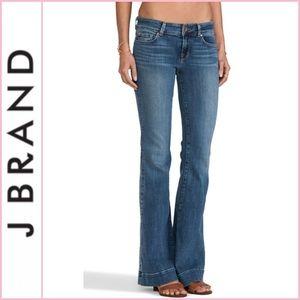J Brand Love Story Flare Denim Jeans in Cosmic